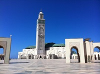 Casablanca - Mosque Hassan II (Andrew Nash - Flickr (CC BY-SA 2.0))