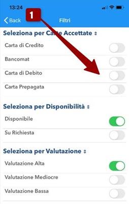 filtro app