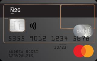 cart di debito N26